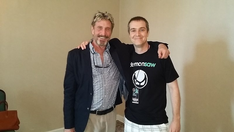 John McAfee's Plan for a New Internet Will Make the 'Cloud' Obsolete