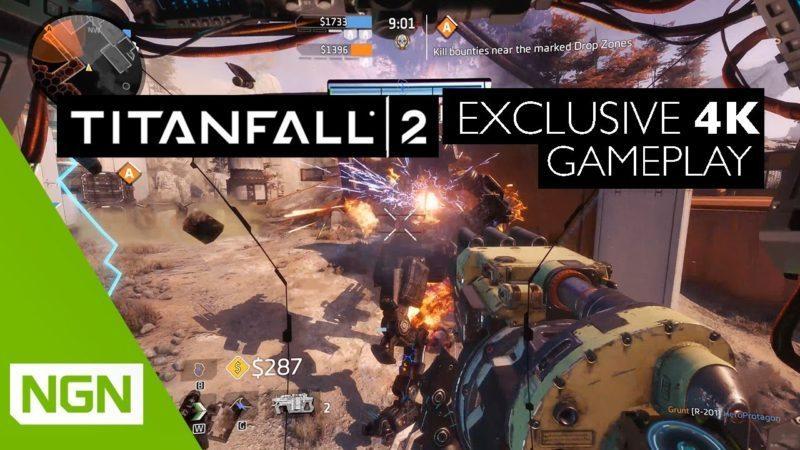 Nvidia Presents Titanfall 2 4K 60fps Gameplay on Titan X
