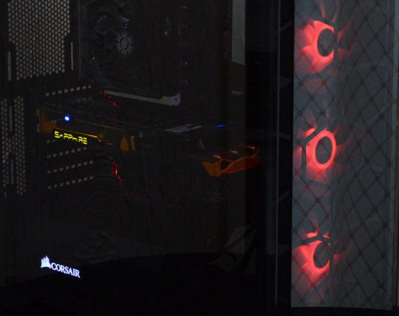 Corsair Crystal 570X Tempered Glass Mid-Tower RGB Chassis