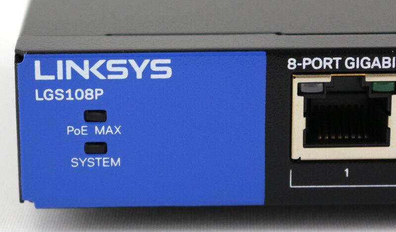Linksys LGS108P 8-Port Gigabit PoE+ Desktop Switch Review
