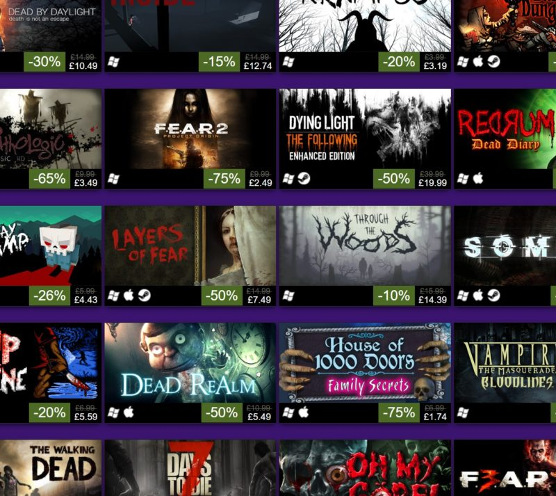 Steam's Halloween Sale Offers Spooky Delights | eTeknix
