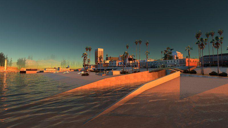Grand Theft Auto: San Andreas Gets Impressive Graphics