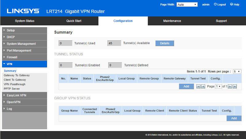 Linksys Lrt214 Business Gigabit Vpn Router Review Eteknix