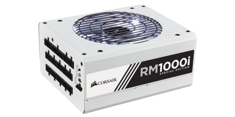 Win a Corsair RM1000i Special Edition Power Supply!