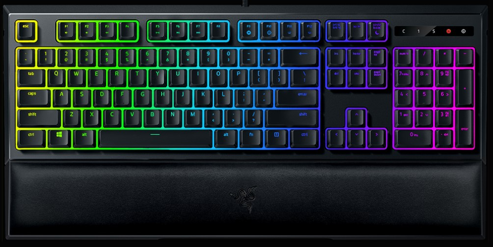 Rørig Razer Ornata Chroma Keyboard Review   eTeknix BA-87