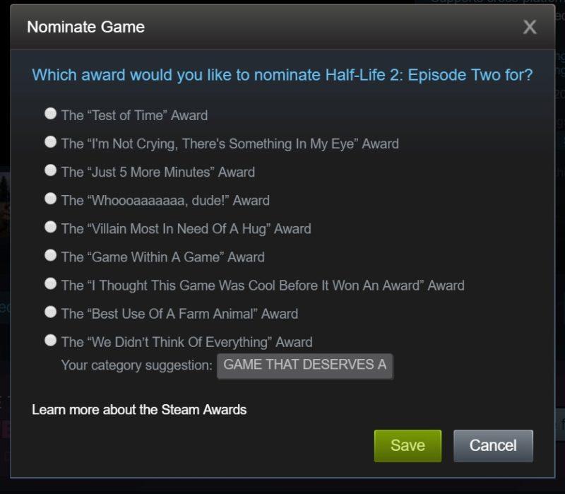 Half-Life 2: Episode 2 Voted 'Game That Deserves a Sequel