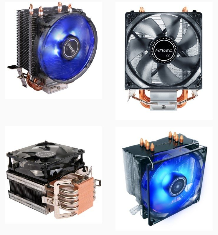 Antec Reveal Four New CPU Air Coolers