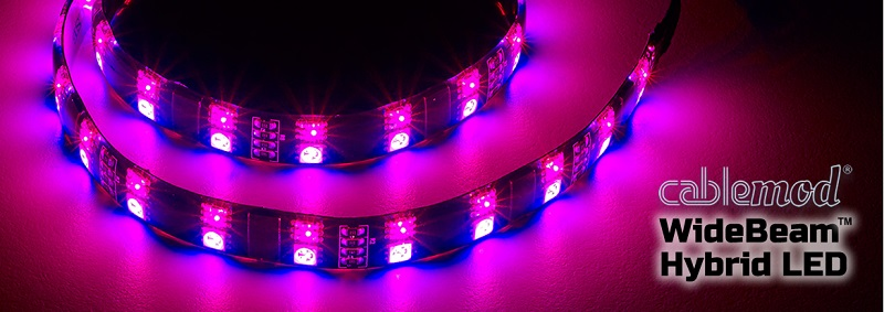 Cablemod Announces Widebeam Hybrid Led Strips Eteknix