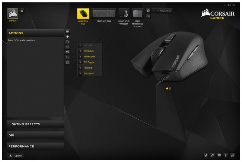 Corsair Harpoon RGB Optical Gaming Mouse Review | Page 3 of 4 | eTeknix