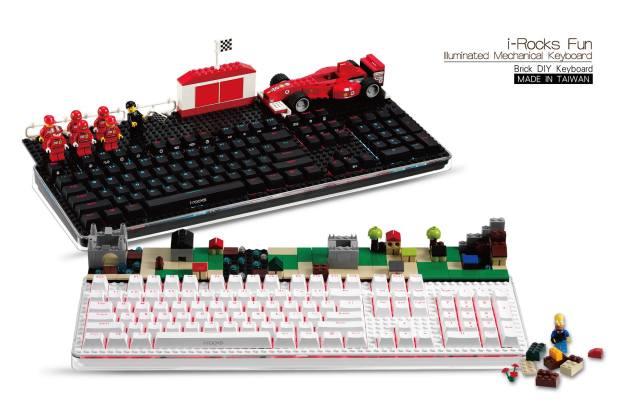 i-Rocks Builds a LEGO-Compatible Alps-Like Keyboard | eTeknix