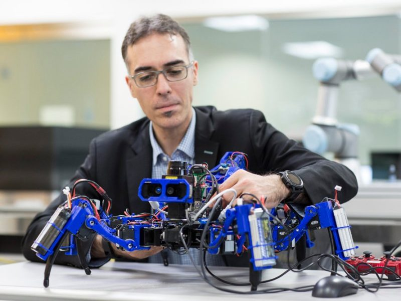 3D-Printing Spider Bots Could Build a City on the Moon