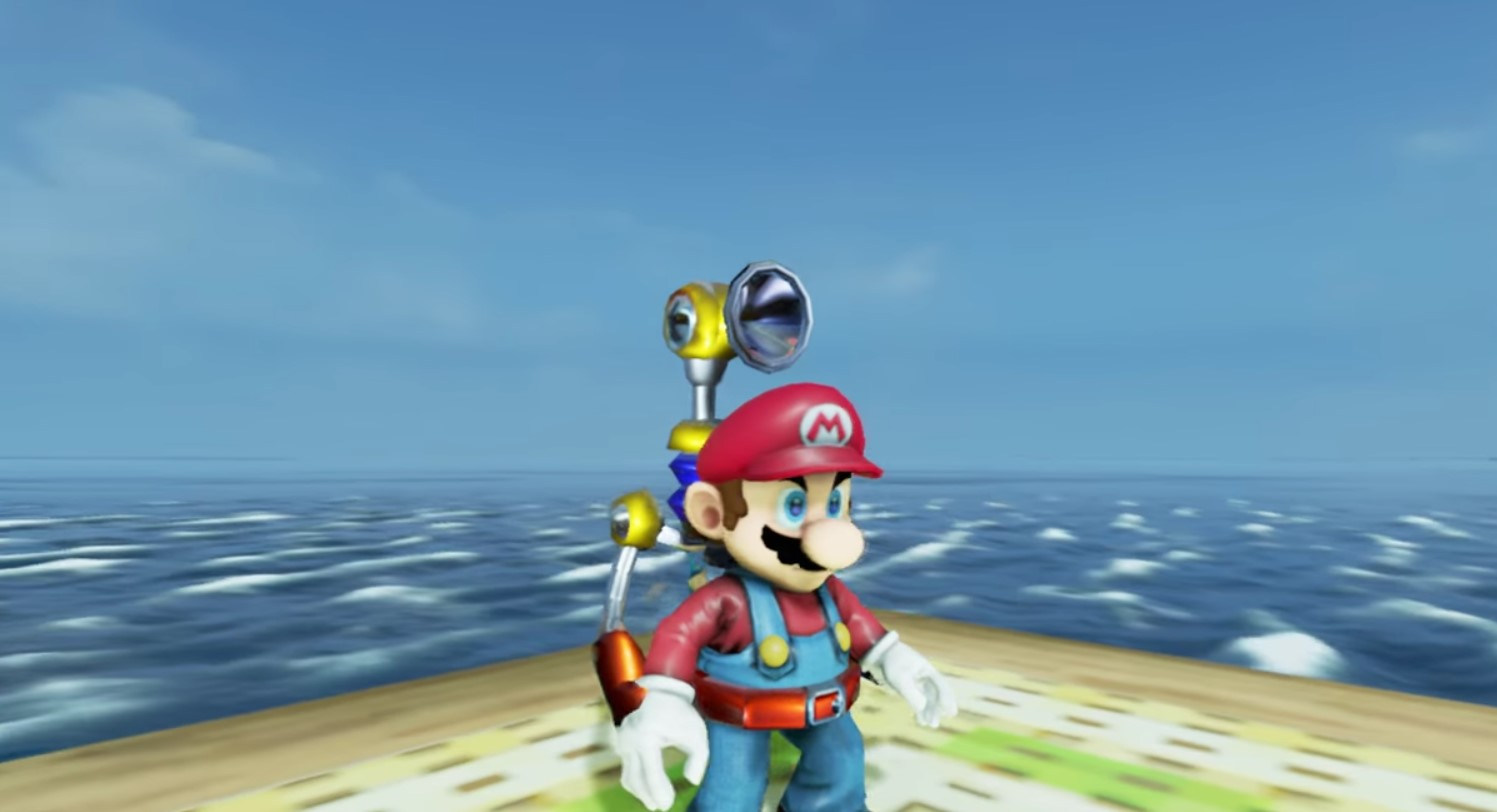 Super Mario Sunshine in Unreal Engine 4 is Glorious | eTeknix