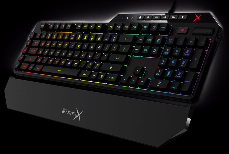 Vanguard K08 Mechanical Gaming Keyboard Review