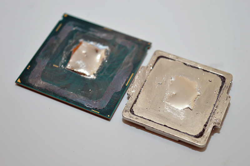 intel core i7 7700k kaby lake delidding analysis does it make a difference eteknix. Black Bedroom Furniture Sets. Home Design Ideas