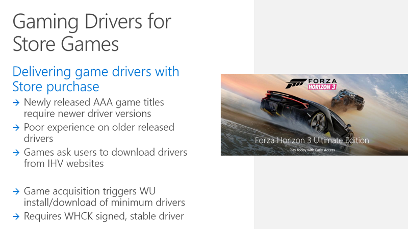 Microsoft to Bundle Game Drivers on UWP Store | eTeknix