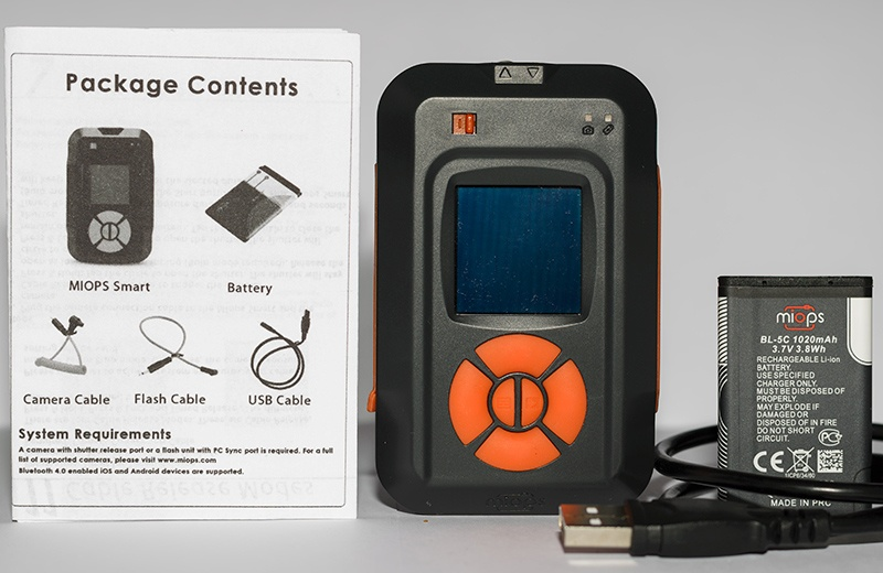 MIOPS Smart Trigger Package Contents