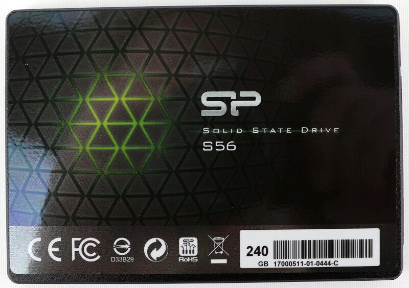 Silicon Power S56 Photo view top