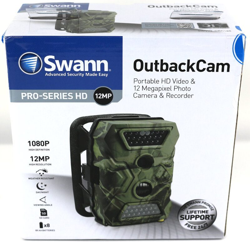 Swann OutbackCam Photo box front
