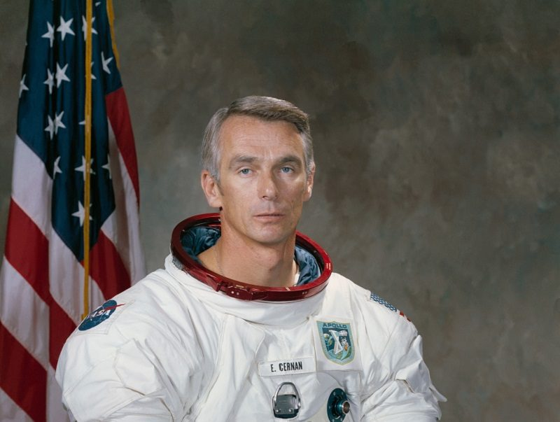 Last Person on the Moon Passes Away