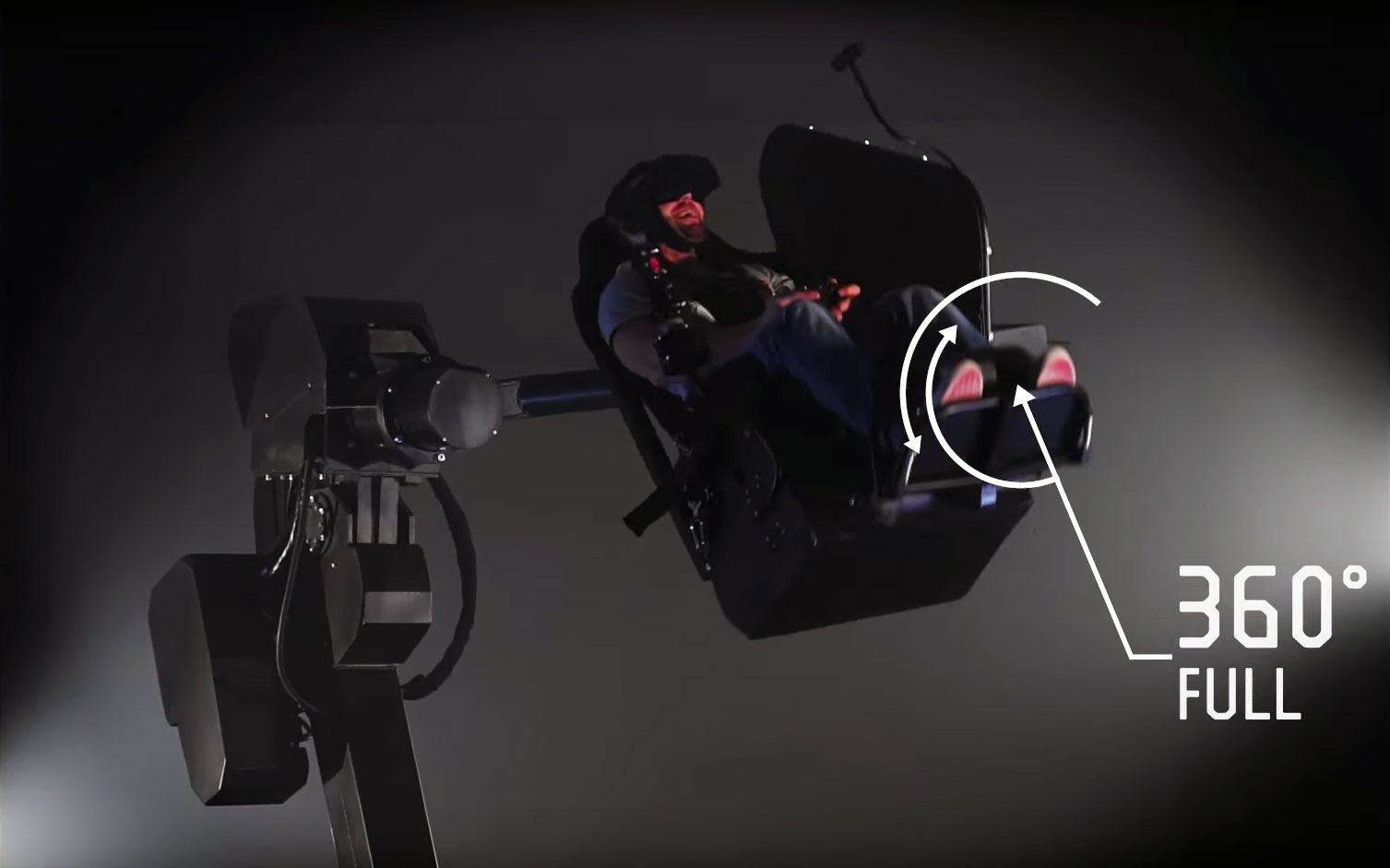 MMOne VR Chair Can Simulate 360 Gaming Motion | eTeknix