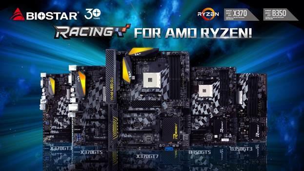 BIOSTAR Reveal New RACING Motherboards for AMD Ryzen