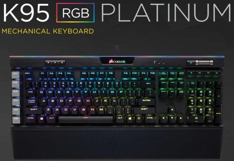 Corsair K95 RGB Platinum Mechanical Gaming Keyboard Review