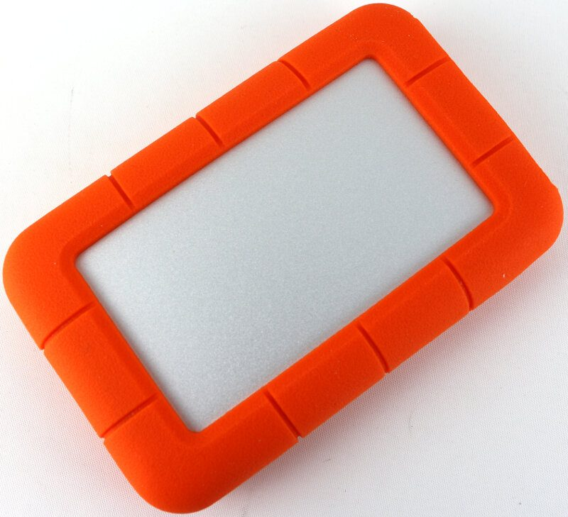 Lacie Rugged 2TB Photo bottom