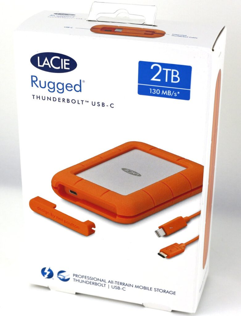 Lacie Rugged 2TB Photo Box 1
