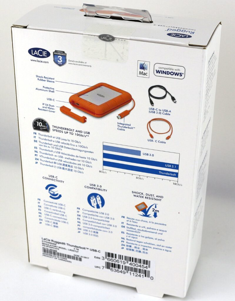 Lacie Rugged 2TB Photo box 2