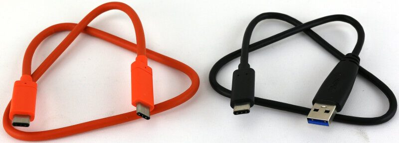 Lacie Rugged 2TB Photo box cables