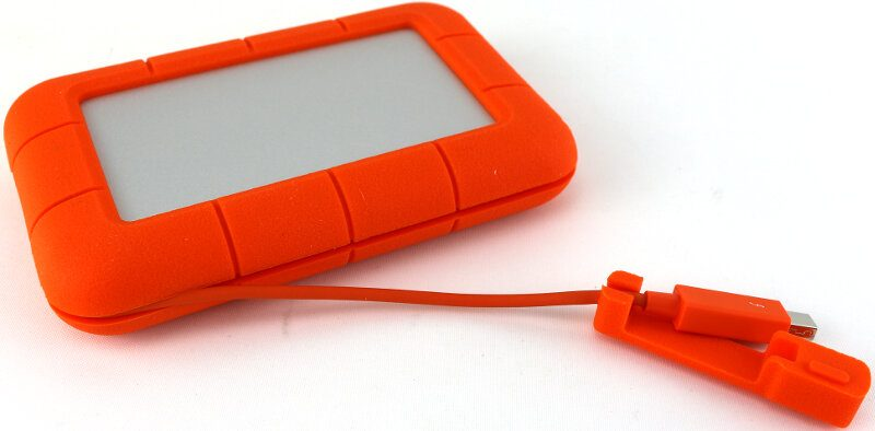 Lacie Rugged 2TB Photo cable