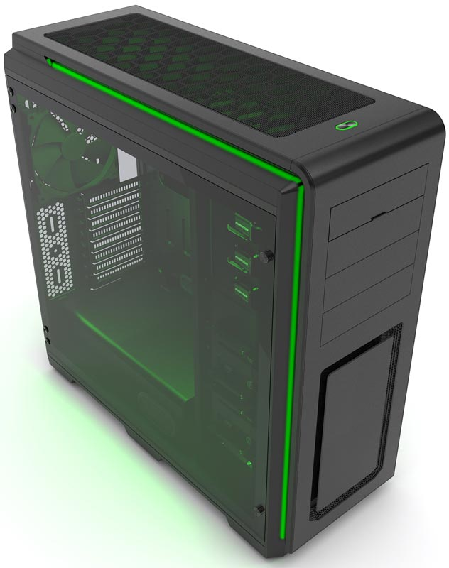 Phanteks Enthoo Luxe Elite Tempered Glass Chassis Review