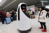 Robot Security Guards Patrol China's Rail Station