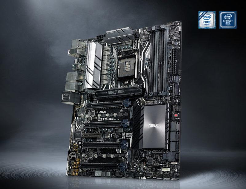Asus Unveils Z270-WS Workstation Motherboard   eTeknix