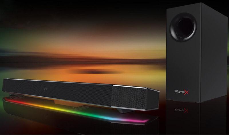 Creative Sound BlasterX Pro-Gaming Katana Desktop Soundbar Review