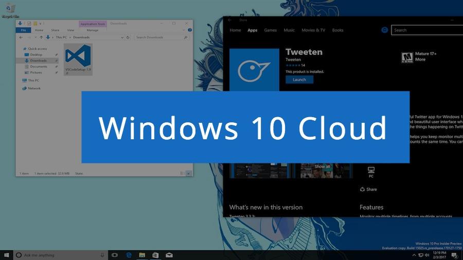 Windows 10 Cloud Confirmed UWP Apps Only | eTeknix