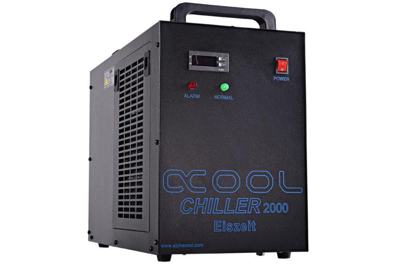 Alphacool Debuts Eiszeit 1500W Compressor Cooler