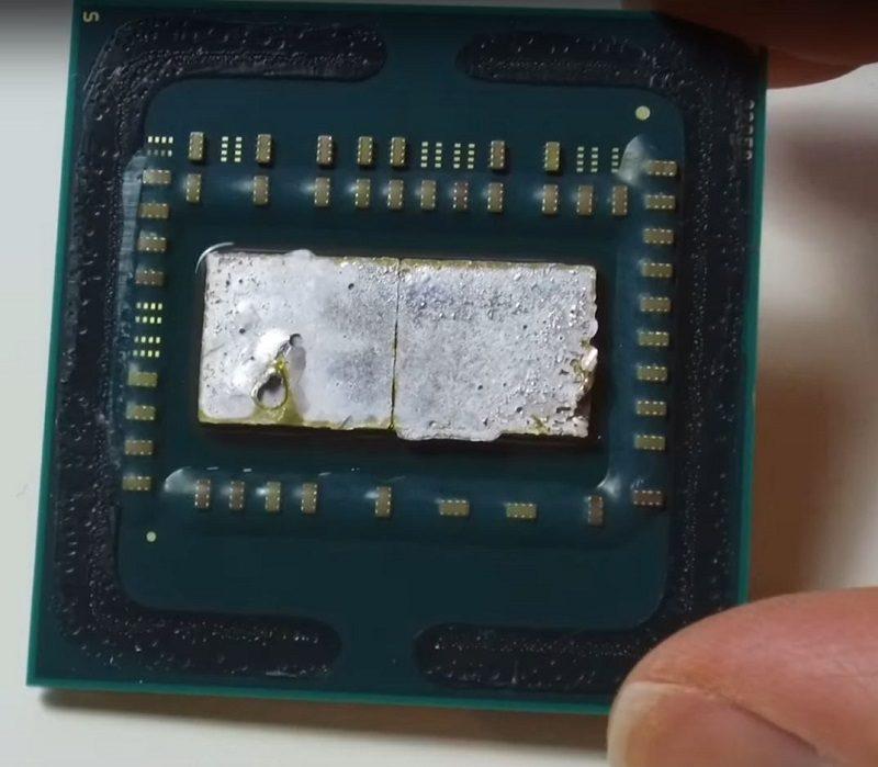 AMD Ryzen 7 1700 Delidded 1