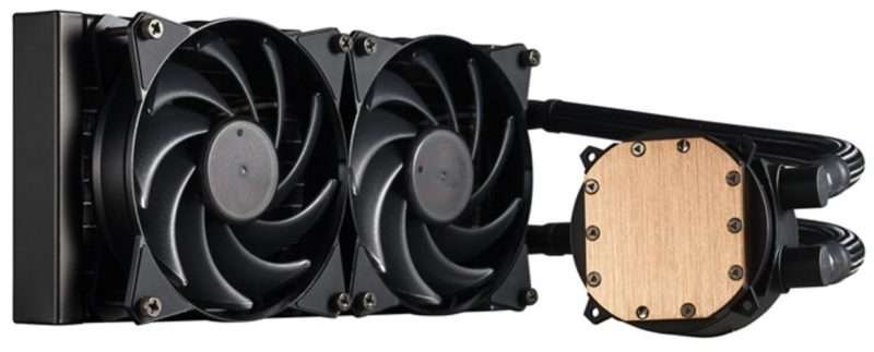 Cooler Master Masterliquid 240 AIO CPU Cooler Review