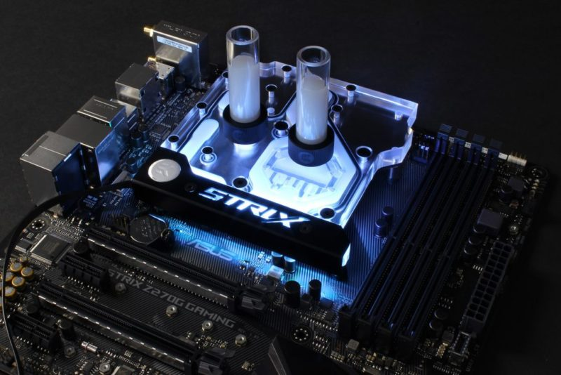 EKWB Monoblock for ASUS STRIX Z270 Motherboards Now Available