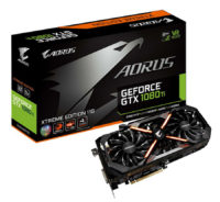 GIGABYTE GTX 1080 Ti AORUS Xtreme Edition Video Card Pictured