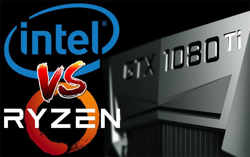 Nvidia GTX 1080 Ti CPU Showdown: i7 7700k Vs Ryzen R7 1800x Vs i7 5820k