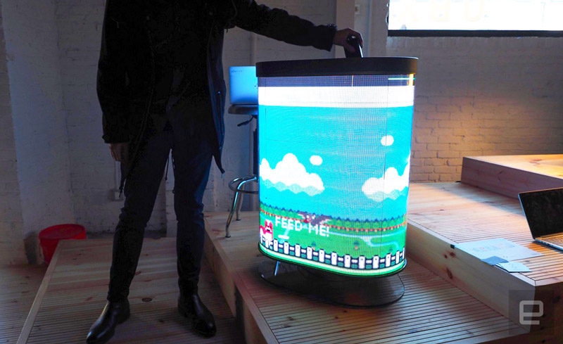 TetraBIN Smart Trash Can Lets You Play With Garbage