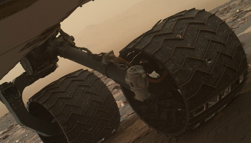Curiosity Rover's Wheels are Showing Further Damage