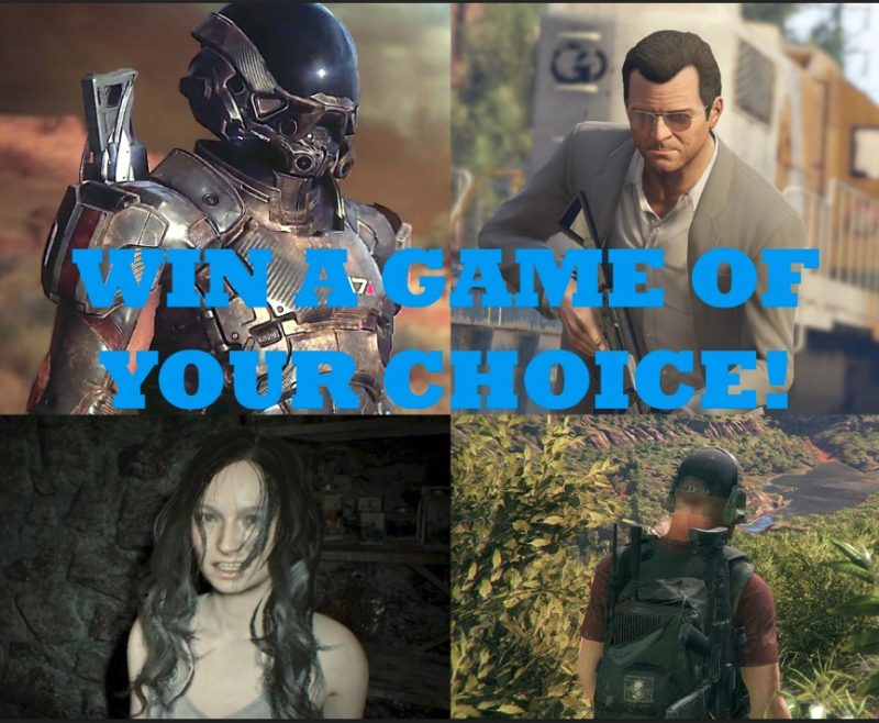 Win a PC Game of Your Choice! 1