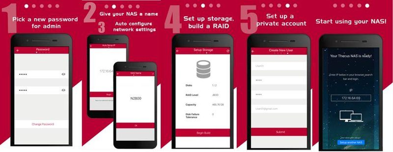 Thecus Launches Thecus Wizard iOS and Android NAS Set-Up App