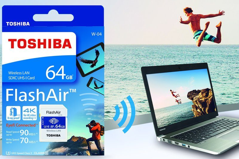 Toshiba Introduces Next-Generation FlashAir Wireless SD Card | eTeknix