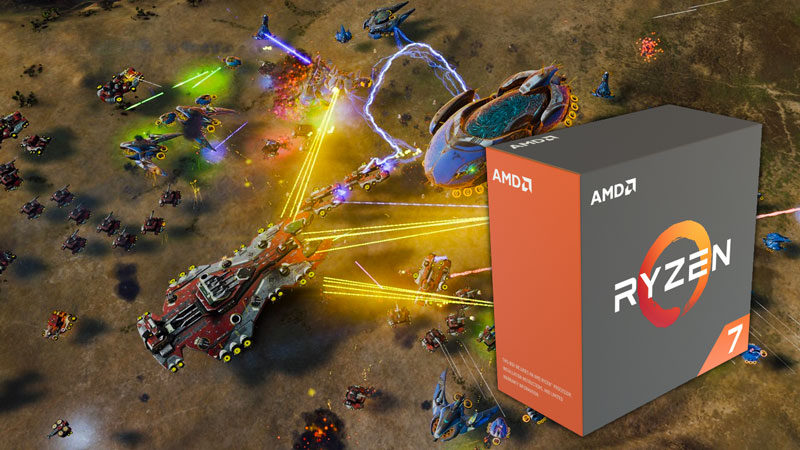 Ashes of Singularity DX12 Now Optimized for AMD Ryzen with 30% Performance Boost