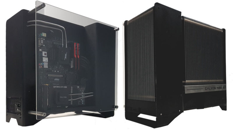 Calyos NSG S0 Fanless Chassis Kickstarter Launched