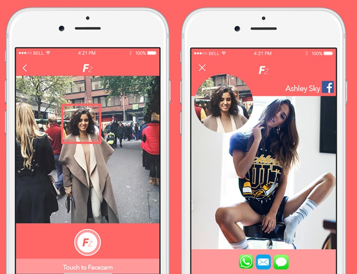 Facezam Uses Face Recognition to Let You Creep on Facebook Profiles